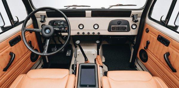 Вершина японского автостроения из 60-х: Автолюбитель сумел восстановить старый Toyota Land Cruiser FJ45
