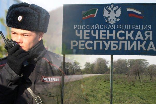 В Чечне был убит бандит в форме Росгвардии