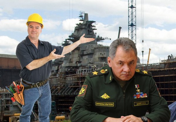 Крейсер «Адмирал Нахимов» для ВМФ готов на 50%