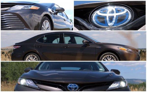 Уходит по-английски: Блогер рассказал про Toyota Camry Hybrid