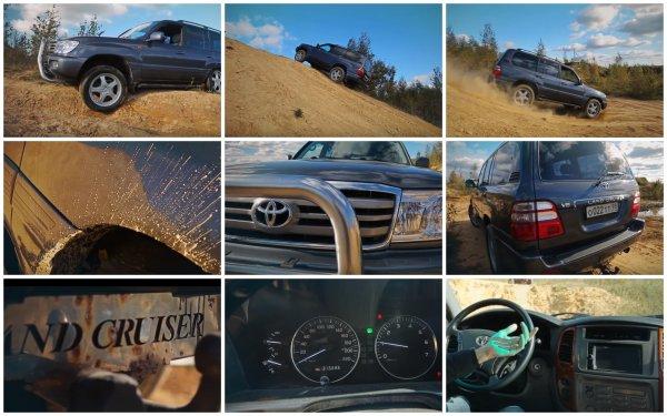 «Для дядь, у которых шея толще чем голова»: Блогер рассказал, за что что любят Toyota Land Cruiser 100