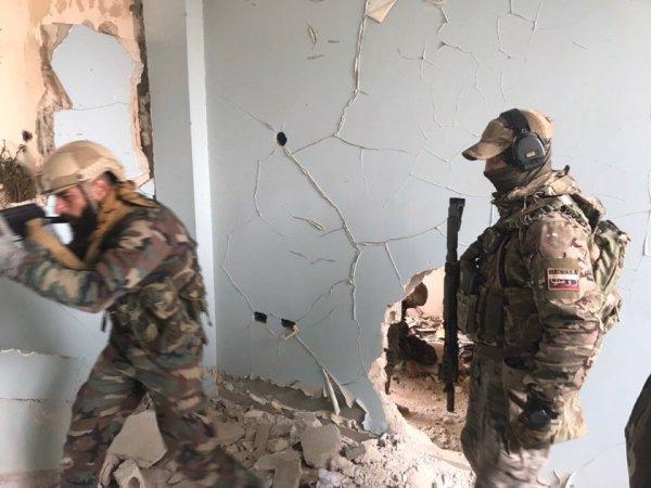 Как Россия готовит спецназ Сирии показали репортёрам СМИ