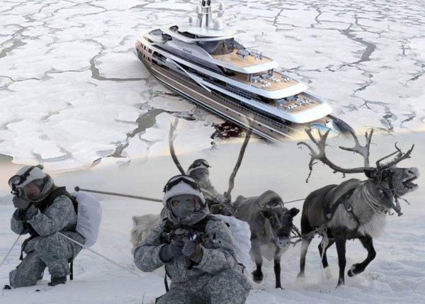 Арктический спецназ ГРУ захватил норвежскую яхту