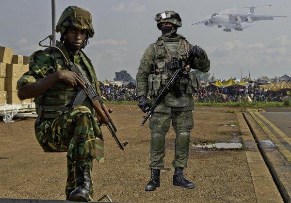 Поставку оружия в Центральную Африку контролирует ЧВК Вагнера