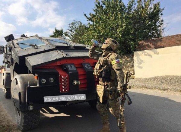 Новое снаряжение спецназа ФСБ «Альфа» впечатлило интернет