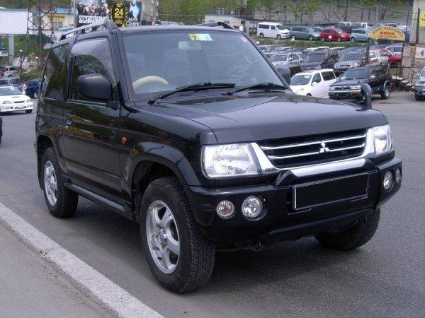 Маленький, да удаленький: Что из себя представляет «карлик» Mitsubishi Pajero Mini 2003