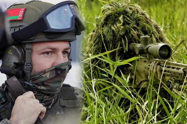 Бойцы группы «Альфа» КГБ Беларуси стали лучшими снайперами Мира