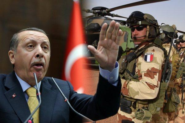 «Париж должен уйти!»: Эрдоган «открыто угрожает» спецназу Франции брошенному ВС США в Сирии