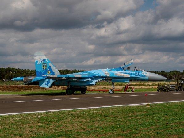 Выступление украинского Су-27 на авиашоу в Бельгии чуть не закончилось катастрофой
