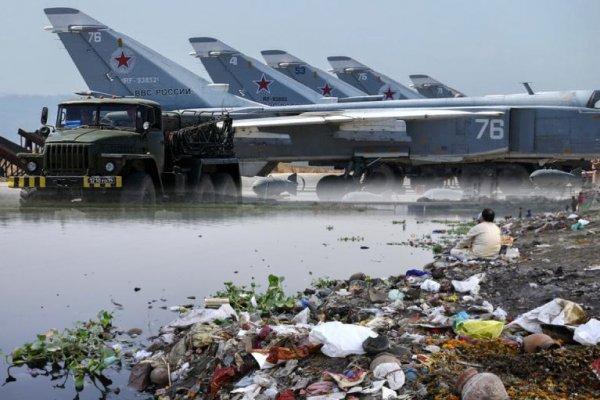 «Живем во рву с дерьмом»: Правда о быте российских войск в Сирии