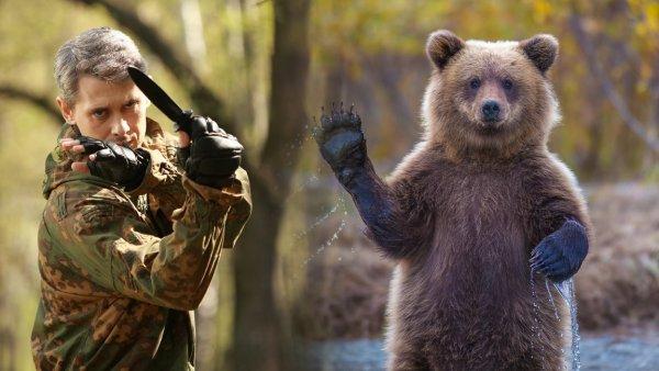 Спецназ против медведя: Как бойцов СпН готовят выживать в дикой природе