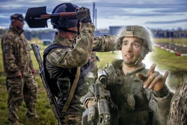 «Дёрнусь — он убьёт меня лопатой»: Инструктор спецназа США о встрече с «десантурой» в Косово