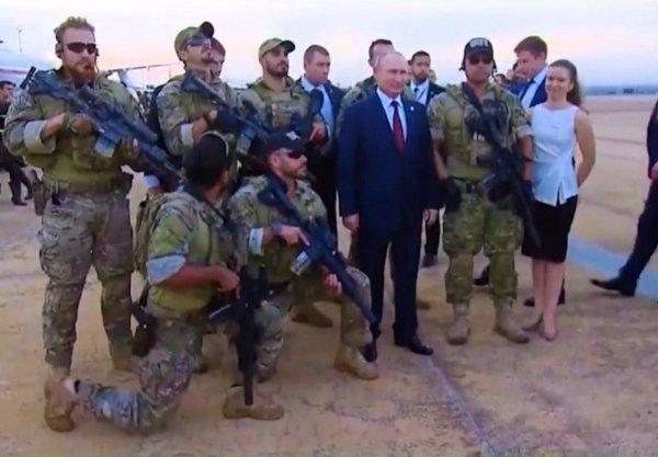 Боится своих? Почему Путина защищает спецназ Бразилии
