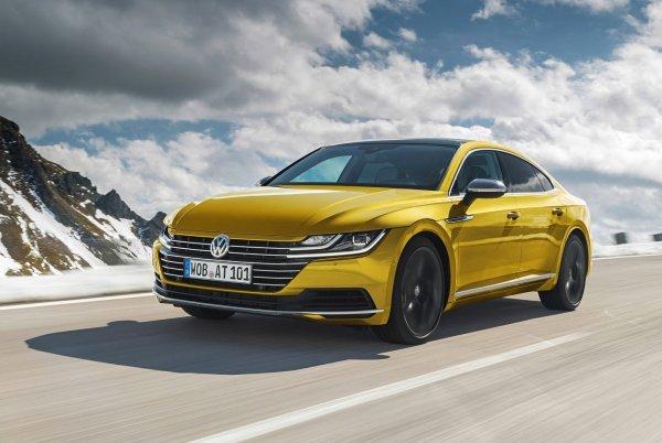 Audi A5 и BMW 4 Series запаниковали: В Россию приедет полноприводный Volkswagen Arteon