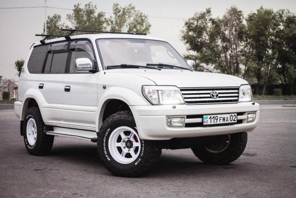 Можно брать вместо «Нивы»: «Уставший» Toyota Land Cruiser Prado 95 – для рыбалки покатит