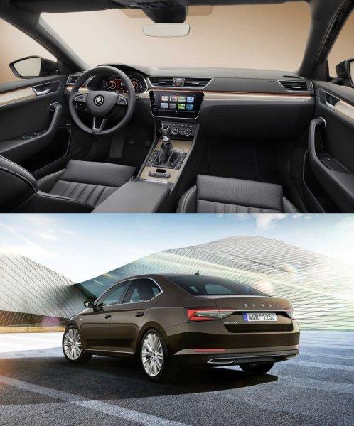 Toyota Camry и Hyundai Sonata – подвигайтесь: Чем удивляет обновленная Skoda Superb
