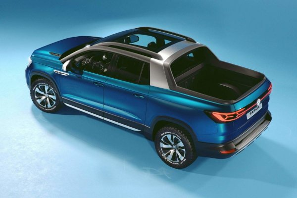 «Японцам» бой: Новый пикап Volkswagen Tarok готовится к премьере - Toyota Hilux и Mitsubishi L200 уже в панике