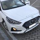 «Когда работал на заводе Hyundai и натырил шильдиков» – В сети высмеяли тюнингованную Sonata