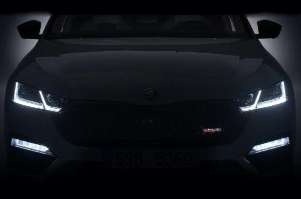 Иеще раз: Skoda впоследний раз перед Женевским автосалоном «засветила» Octavia RS