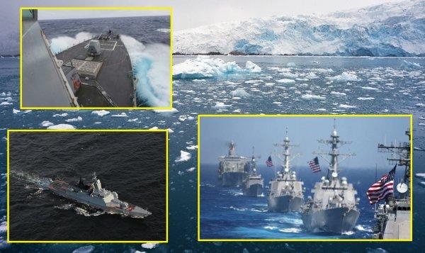 Американские корабли прибыли в Арктику с антироссийской миссией